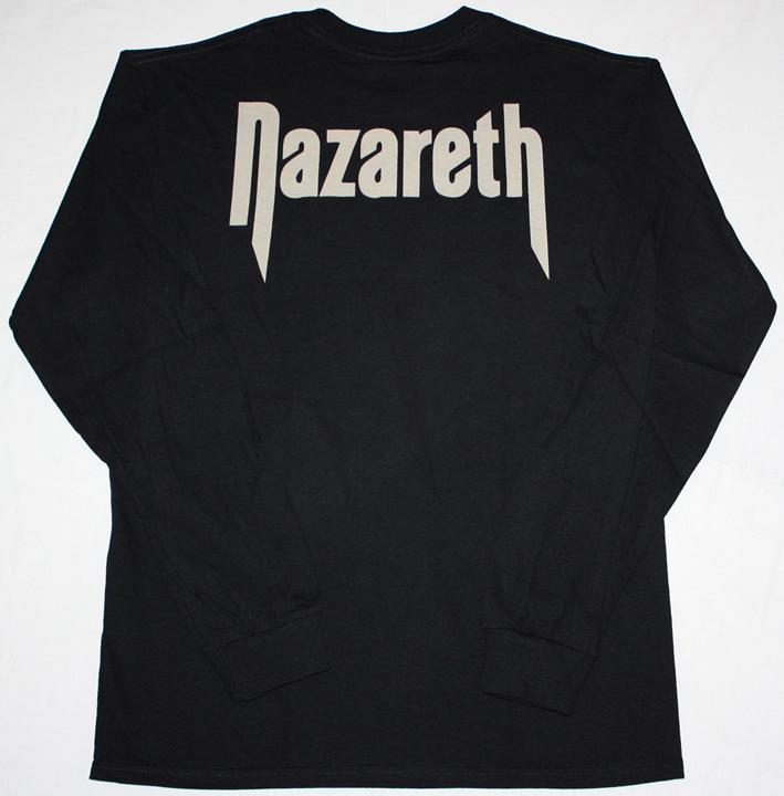 NAZARETH HOT TRACKS'73-76  S-XXL LONG SLEEVE T-SHIRT