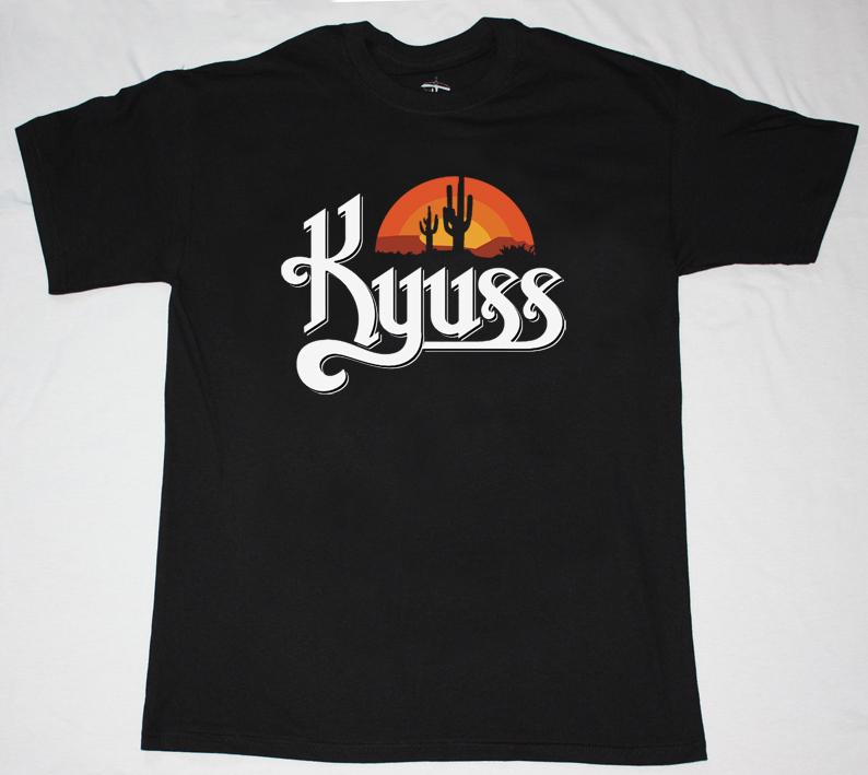 KYUSS BLACK WIDOW  NEW BLACK T-SHIRT
