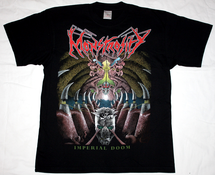 Monstrosity Imperial Doom 1992 Death Metal Die Hard