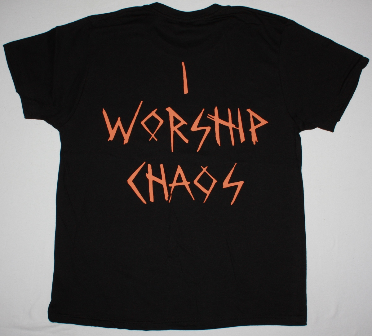 CHILDREN OF BODOM I WORSHIP CHAOS NEW BLACK T-SHIRT
