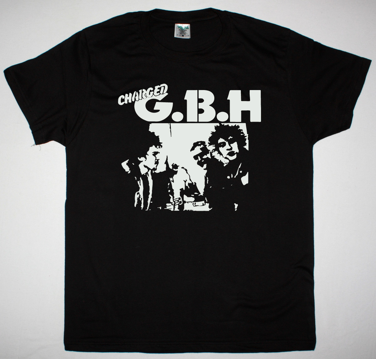 GBH BAND PHOTO NEW BLACK T SHIRT