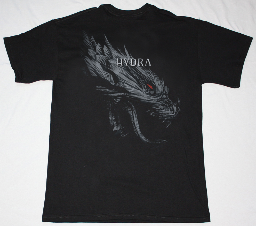 WITHIN TEMPTATION HYDRA HEAD NEW BLACK T-SHIRT