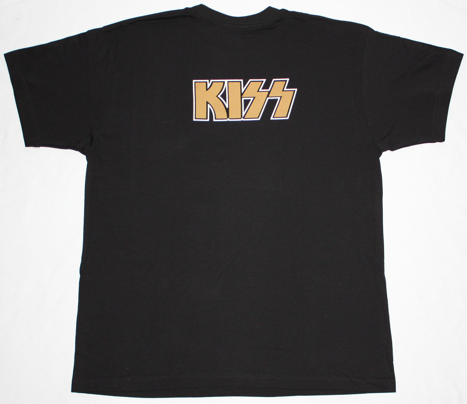 KISS DRESSED TO KILL'75  BLACK T-SHIRT
