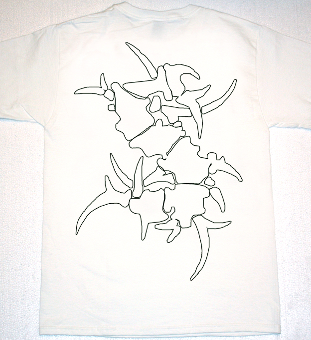SEPULTURA ARISING FROM THE JUNGLE  NEW WHITE T-SHIRT