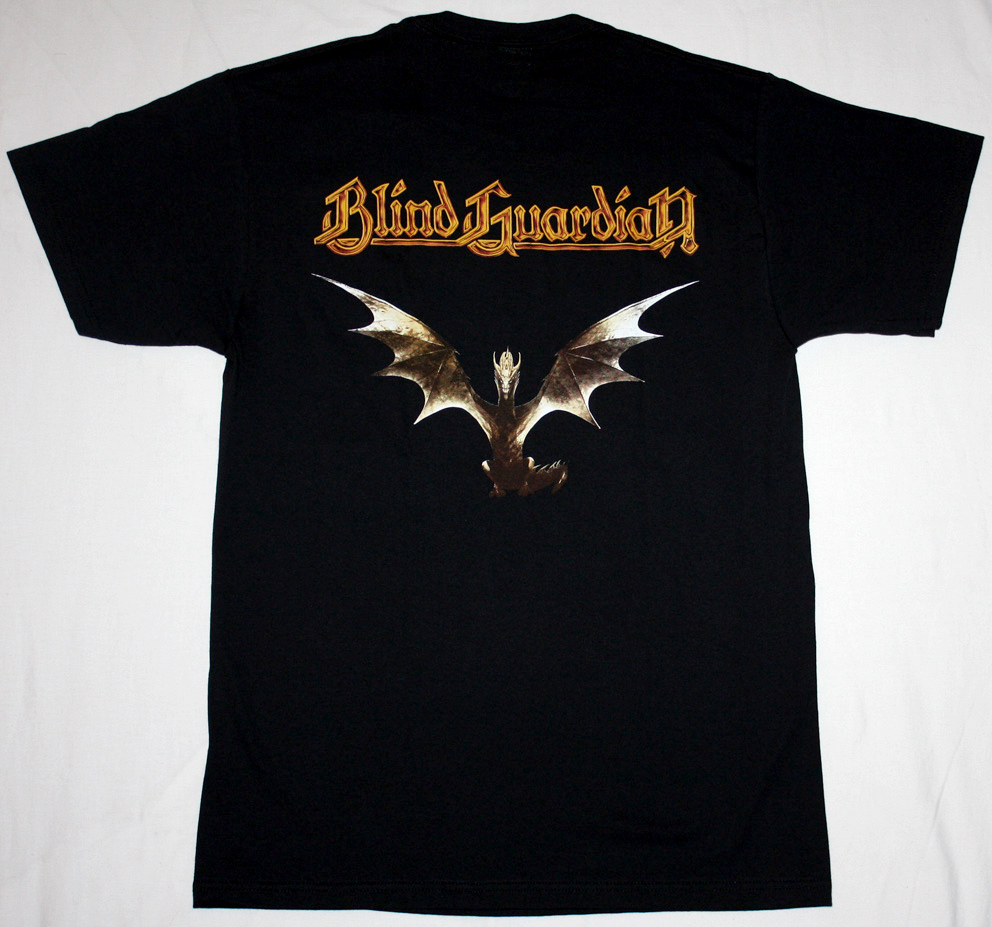 BLIND GUARDIAN AT THE EDGE OF TIME 2010 NEW BLACK T-SHIRT