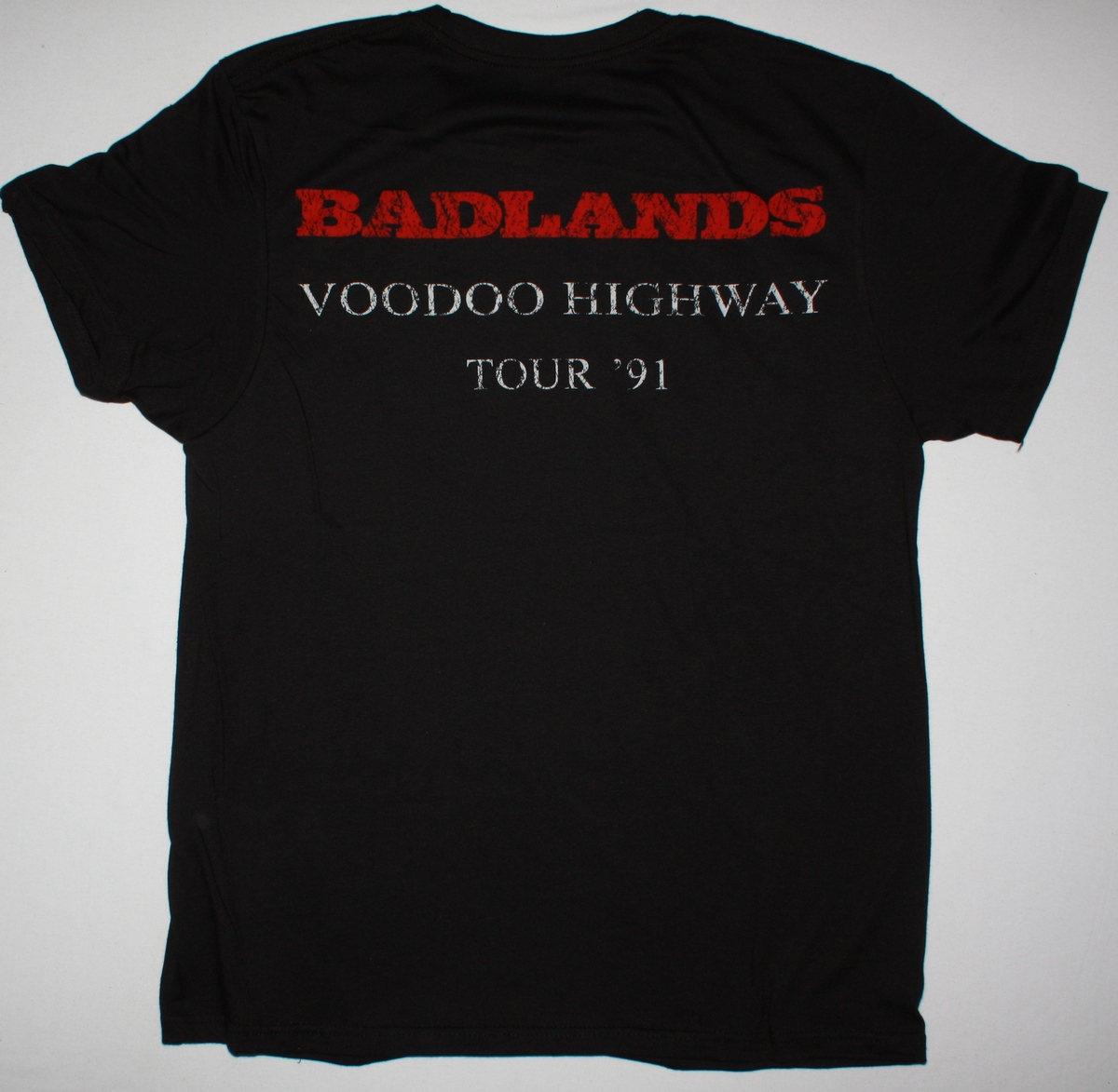 BADLANDS VOODO HIGHWAY 91 NEW BLACK T-SHIRT