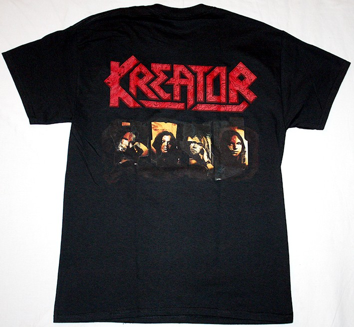 KREATOR RENEWAL 92 NEW BLACK T-SHIRT