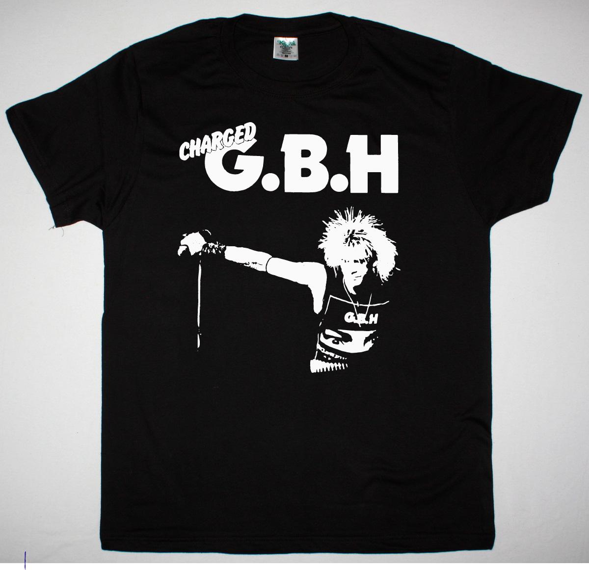 GBH COLIN NEW BLACK T SHIRT
