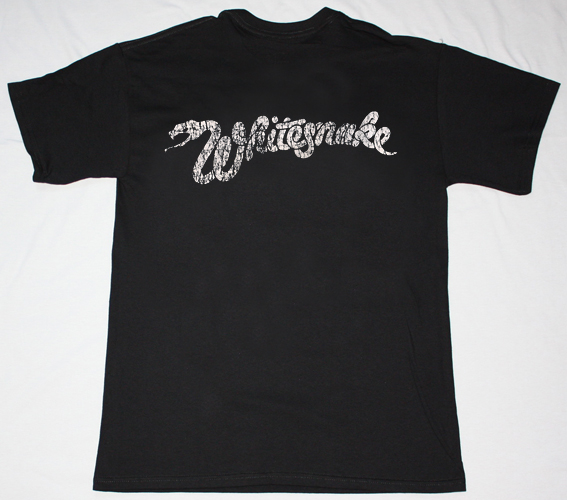 WHITESNAKE COME AN' GET IT'81 NEW BLACK T-SHIRT
