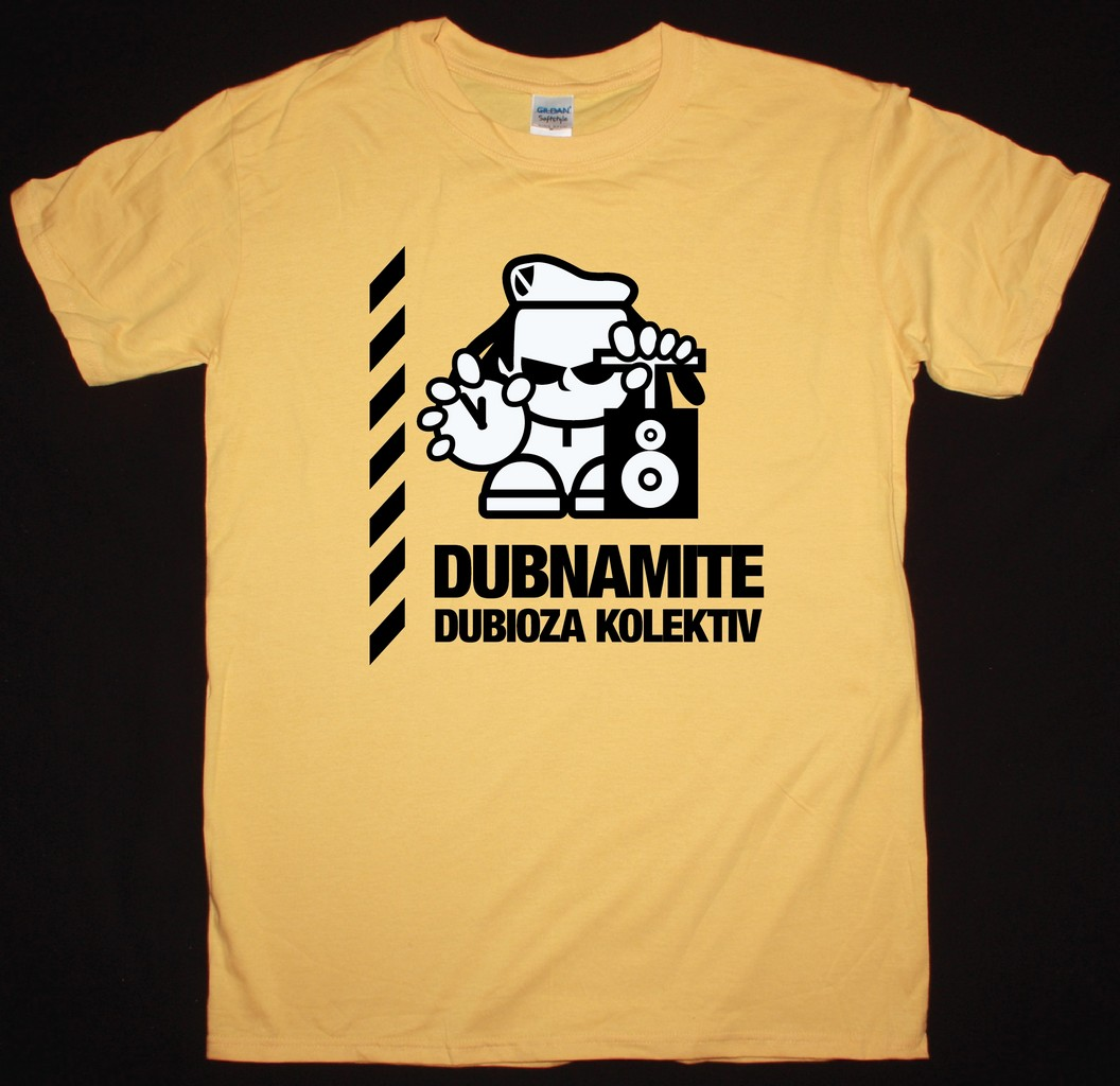 28408c5d4ed DUBIOZA KOLEKTIV DUBNAMITE NEW YELLOW T-SHIRT - Best Rock T-shirts