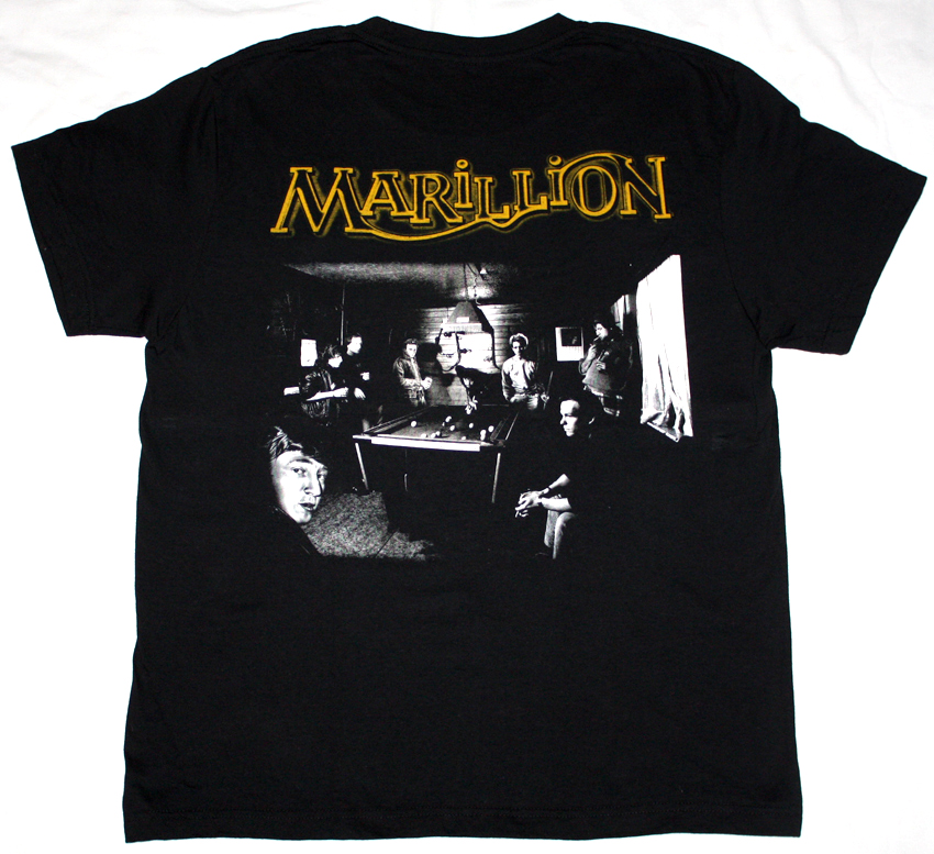 MARILLION CLUTCHING AT STRAWS'87 NEW BLACK T-SHIRT