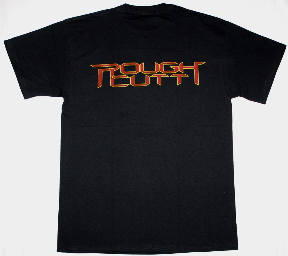 ROUGH CUTT ROUGH CUTT '85 NEW BLACK TSHIRT