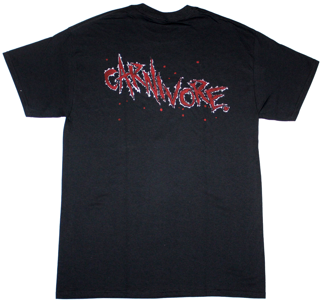 CARNIVORE PARTY NEW BLACK T-SHIRT