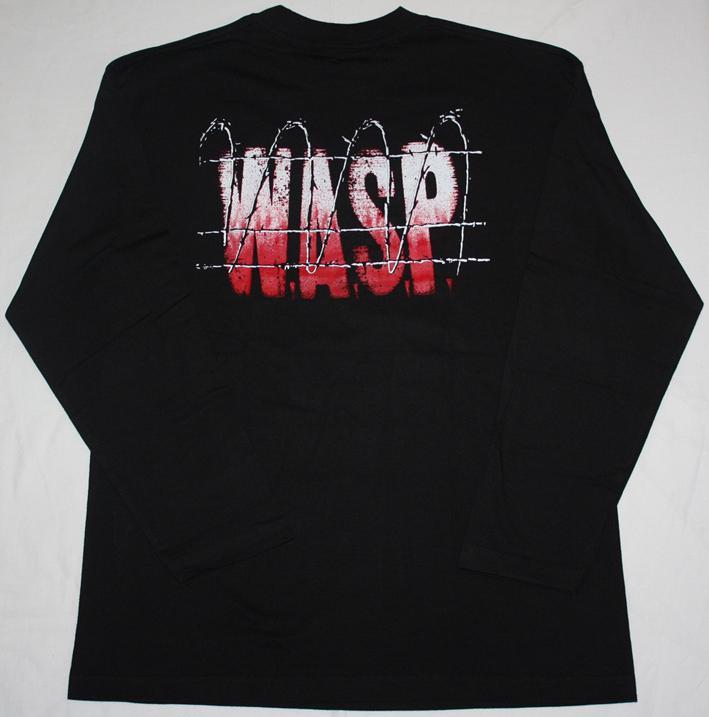 W.A.S.P. THE HEADLESS CHILDREN'89 LONG SLEEVE T-SHIRT