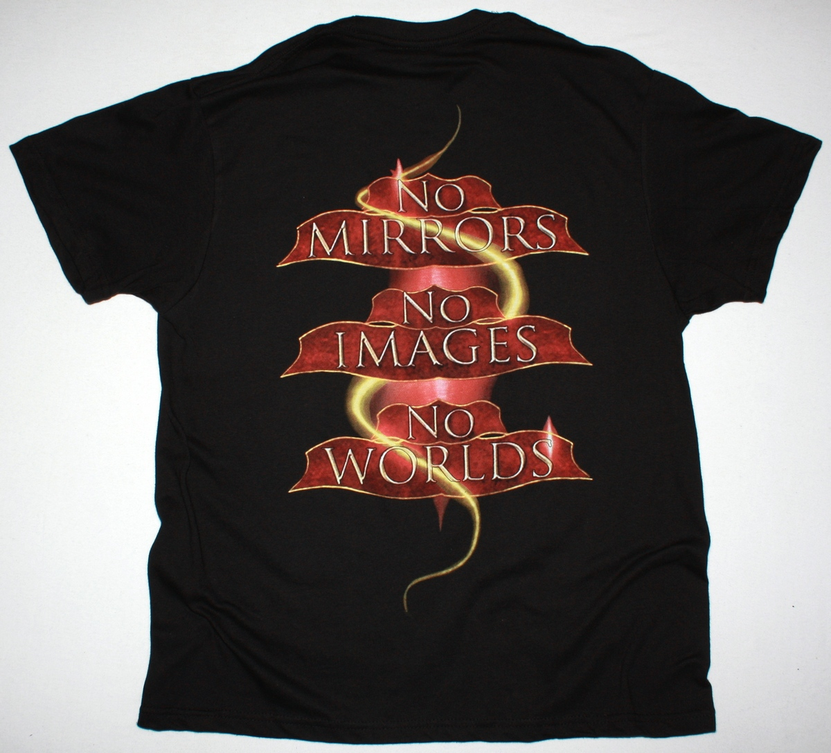 BLIND GUARDIAN BEYOND THE RED MIRROR 2015 NEW BLACK T-SHIRT