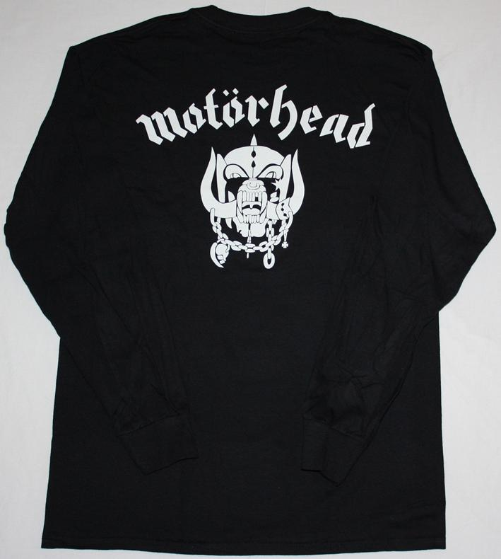 MOTORHEAD ALL THE ACES  S-XXL LONG SLEEVE T-SHIRT