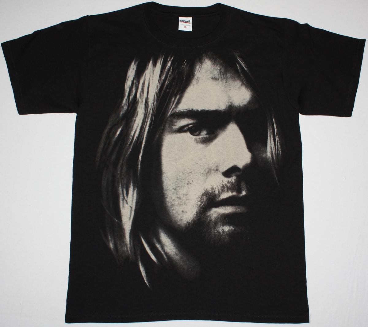 Kurt Cobain Photo Nirvana Grunge Seattle Band New Jumbo Print Black