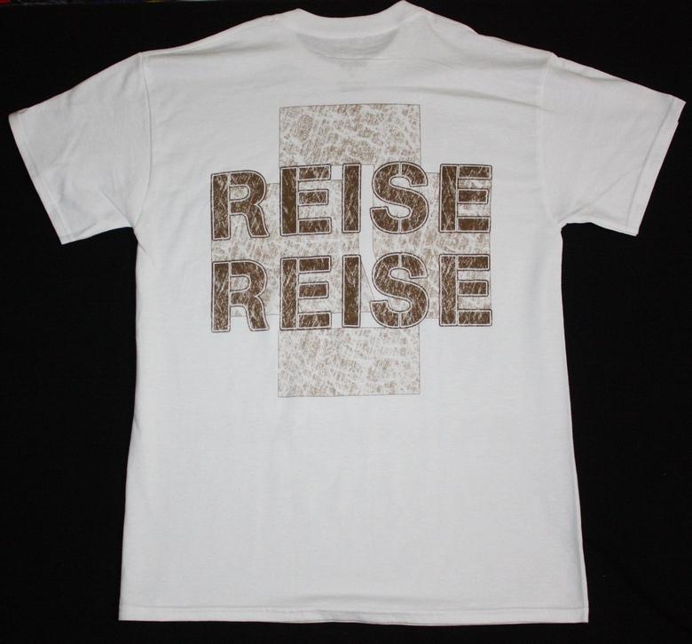RAMMSTEIN BAND REISE REISE NEW WHITE T-SHIRT