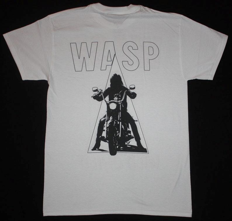 W.A.S.P. WILD CHILD'85  NEW WHITE T-SHIRT
