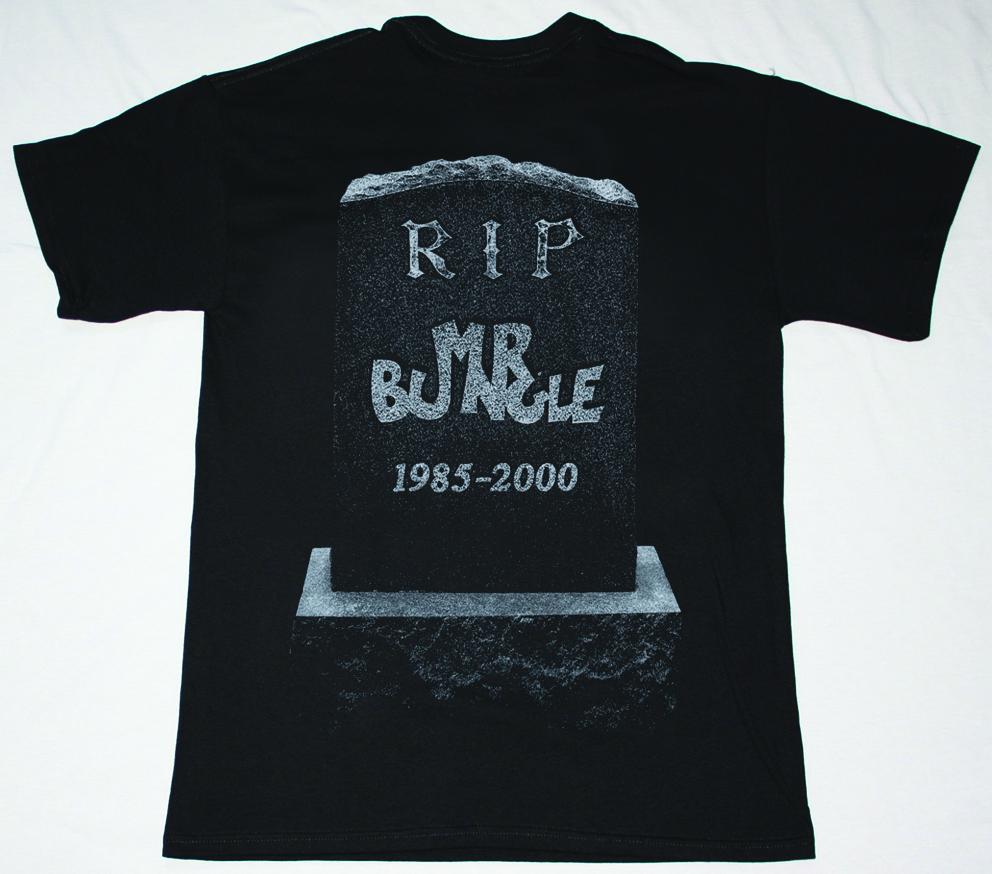 MR BUNGLE R.I.P. NEW BLACK T-SHIRT