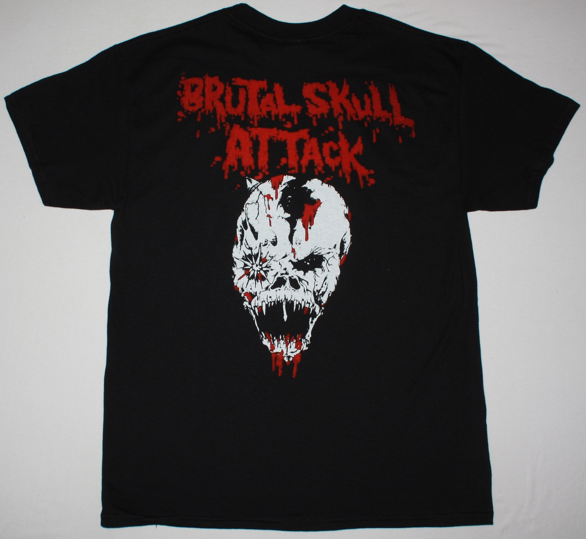 DEMOLITION HAMMER BRUTAL SKULL ATTACK NEW BLACK T-SHIRT