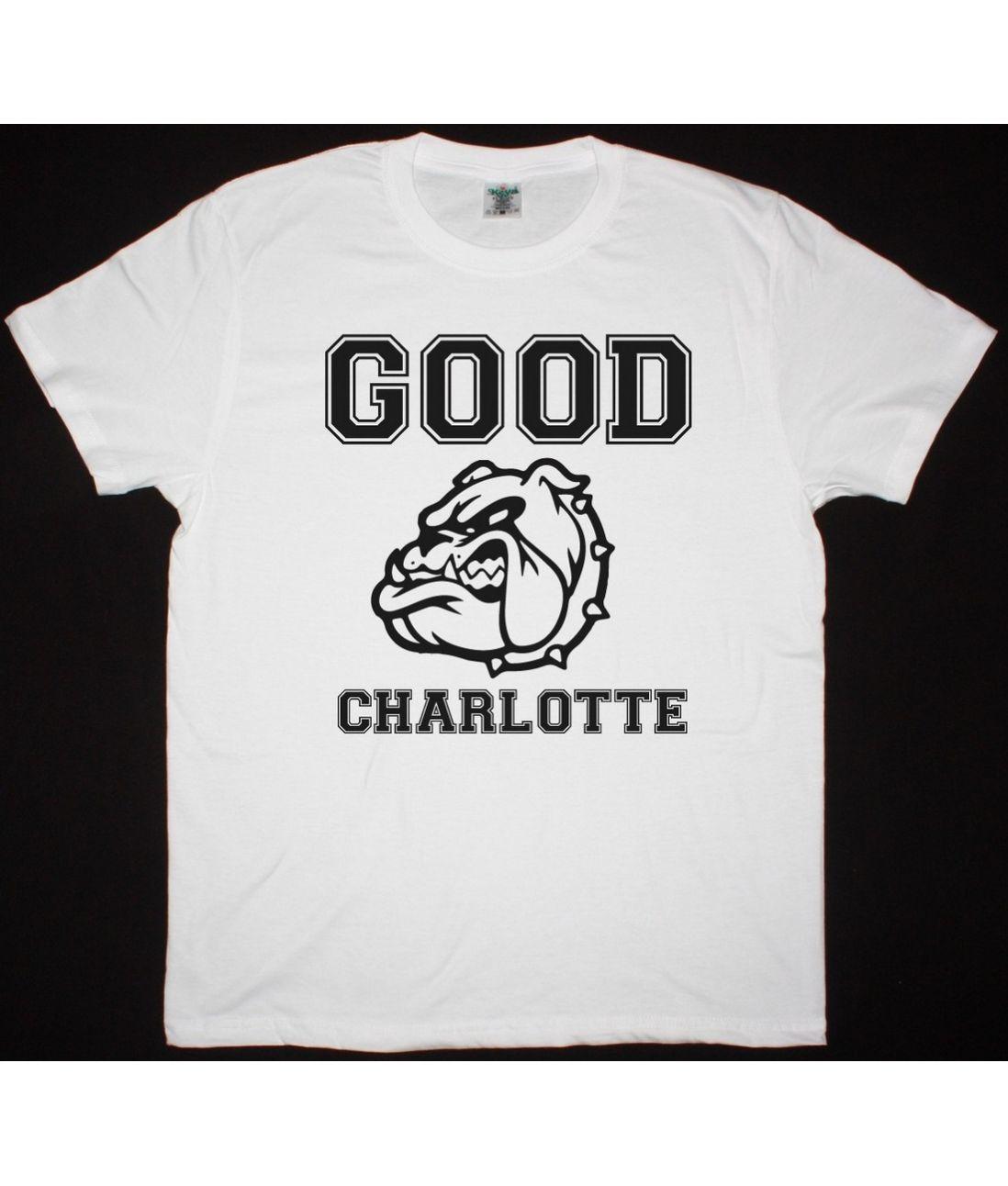 Good charlotte colegiate new white t shirt best rock t for Good white t shirts