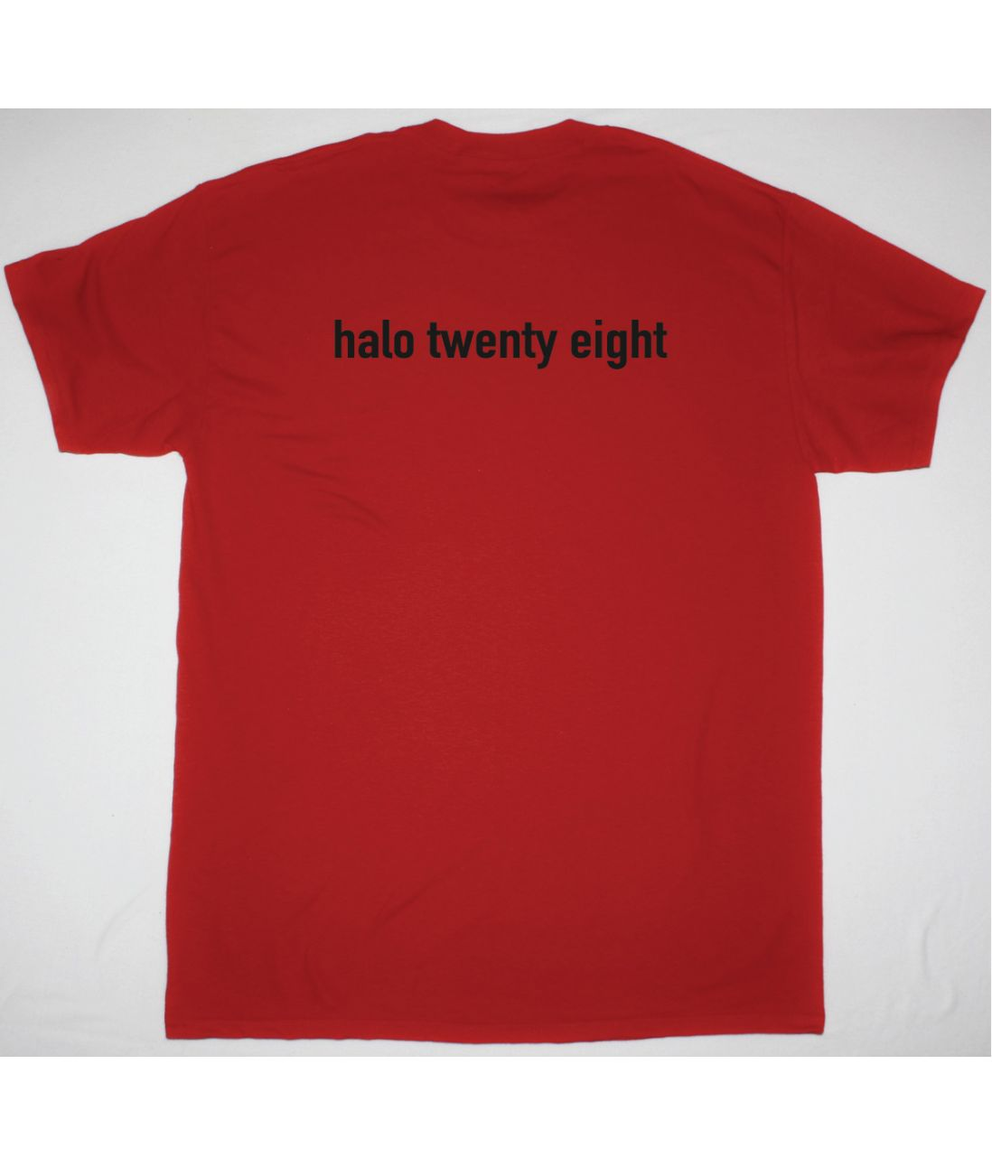 NINE INCH NAILS CORNER BOX NEW RED T SHIRT