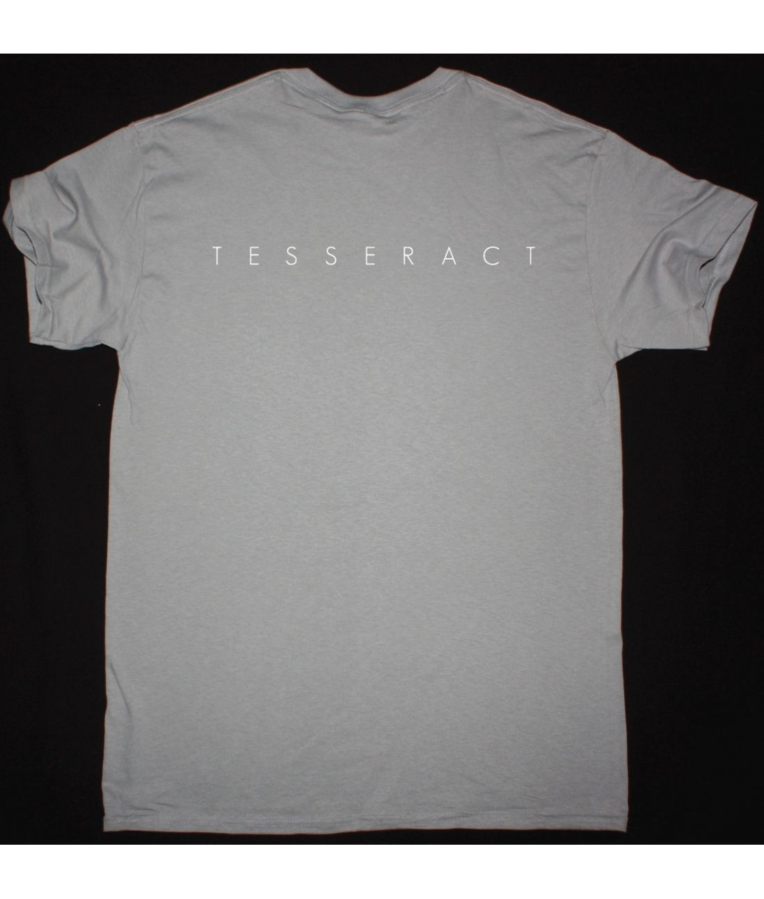 TESSERACT ALTERED STATE NEW LIGHT GREY T SHIRT
