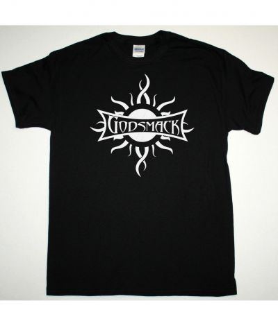 GODSMACK LOGO NEW BLACK T SHIRT