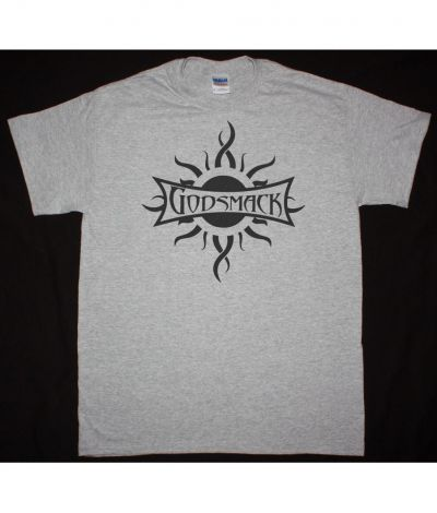 GODSMACK LOGO NEW SPORTS GREY T SHIRT