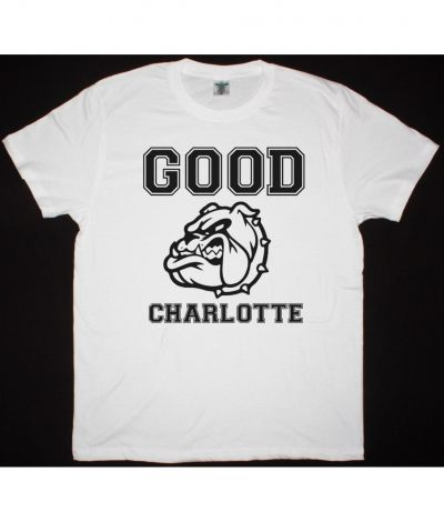 GOOD CHARLOTTE COLEGIATE NEW WHITE T SHIRT