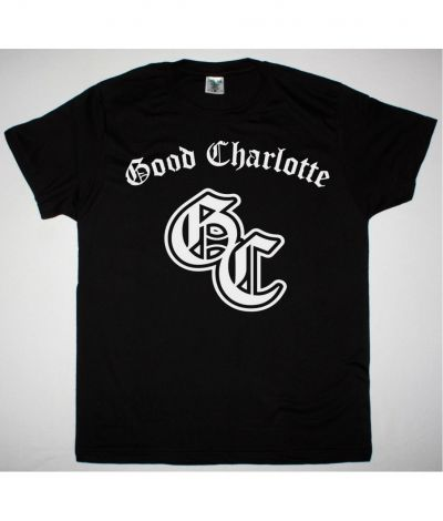 GOOD CHARLOTTE MONOGRAM NEW BLACK T SHIRT