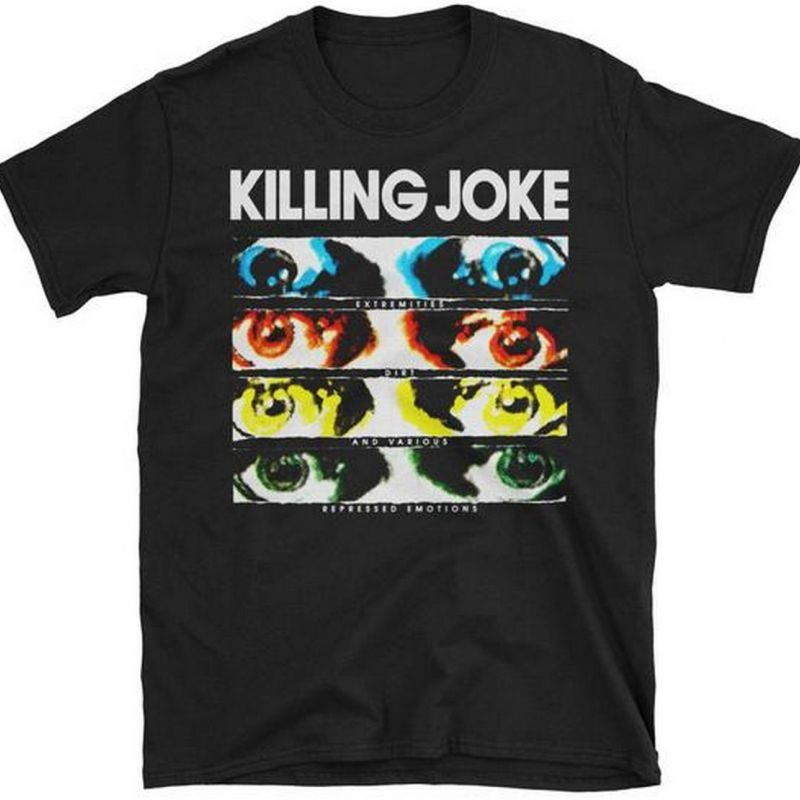 KILLING JOKE EXTREMITIES NEW BLACK T-SHIRT