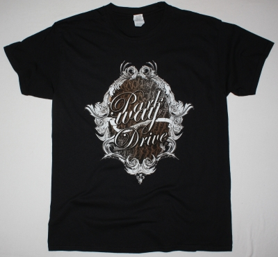 PARKWAY DRIVE OVAL FRAME NEW BLACK T-SHIRT