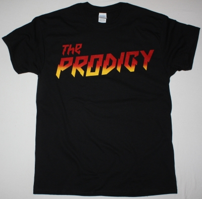 THE PRODIGY LOGO NEW BLACK T SHIRT