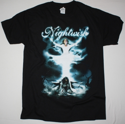 NIGHTWISH RESURRECTION NEW BLACK T-SHIRT