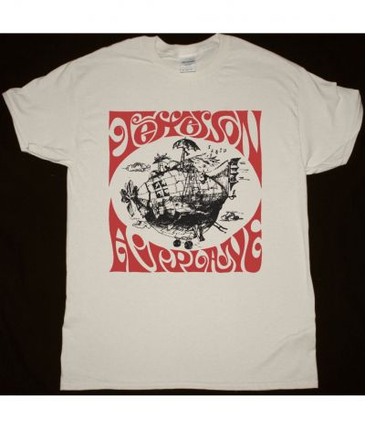 JEFFERSON AIRPLANE AIRPLANE SHIRT NEW NATURAL T SHIRT
