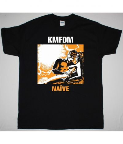 KMFDM NAIVE NEW BLACK T SHIRT