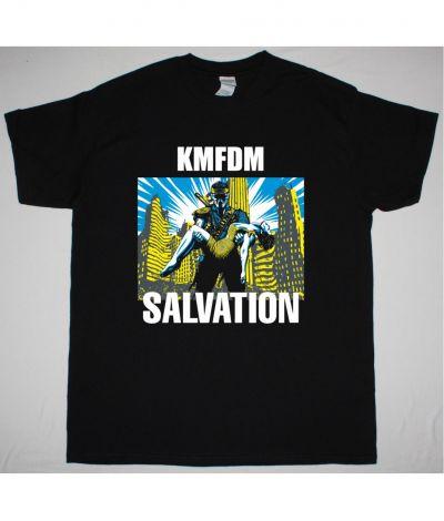 KMFDM SALVATION NEW BLACK T SHIRT