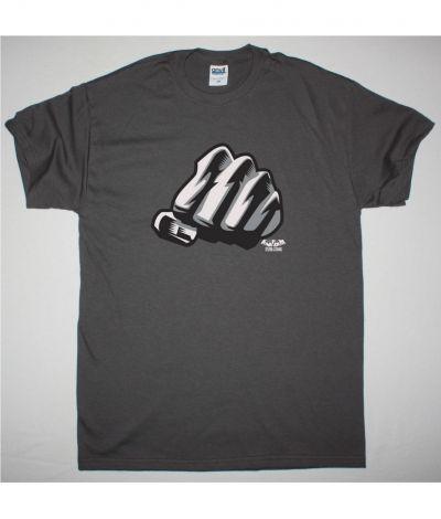 KMFDM STURM & DRANG NEW GREY CHARCOAL T SHIRT