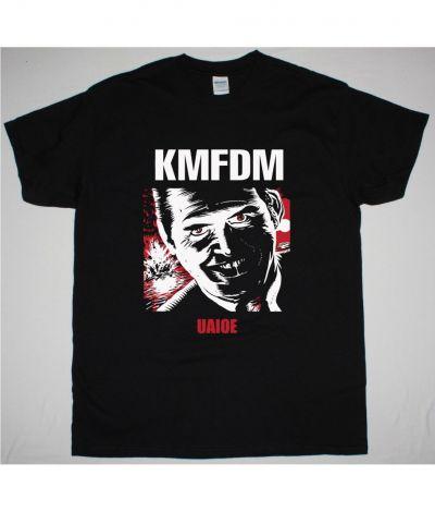 KMFDM UAIOE NEW BLACK T SHIRT