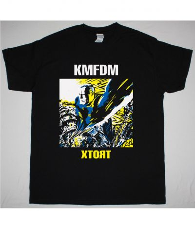 KMFDM XTORT NEW BLACK T SHIRT