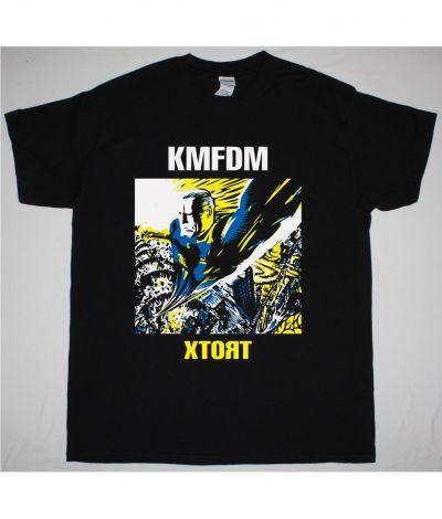 KMFDM XTORT NEW BLACK T SHIRT