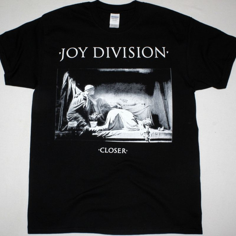 JOY DIVISION CLOSER NEW BLACK T-SHIRT