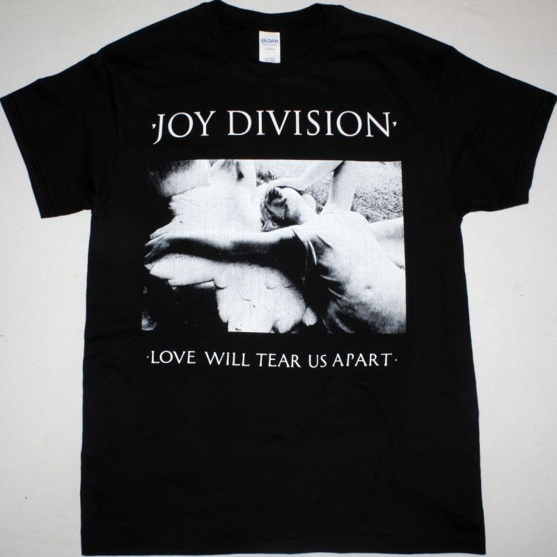 JOY DIVISION LOVE WILL TEAR US APART NEW BLACK T-SHIRT
