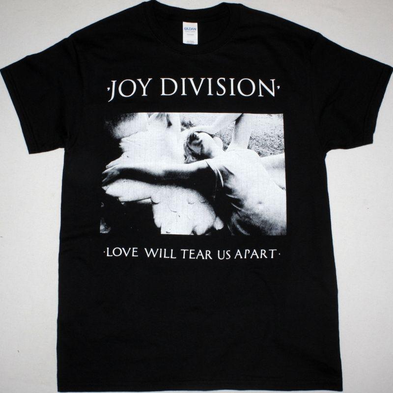 JOY DIVISION LOVE WILL TEAR US APART NEW BLACK T-SHIRT