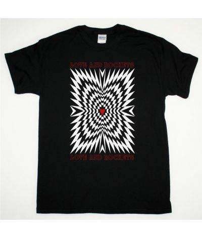 LOVE AND ROCKETS LOVE AND ROCKETS NEW BLACK T SHIRT