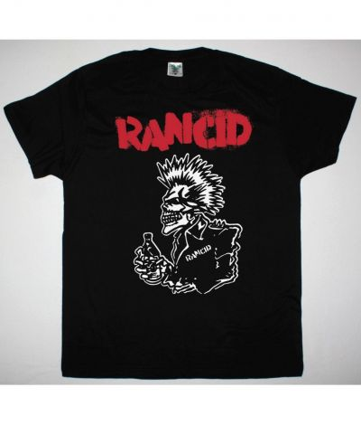 RANCID 40 OZ NEW BLACK T SHIRT