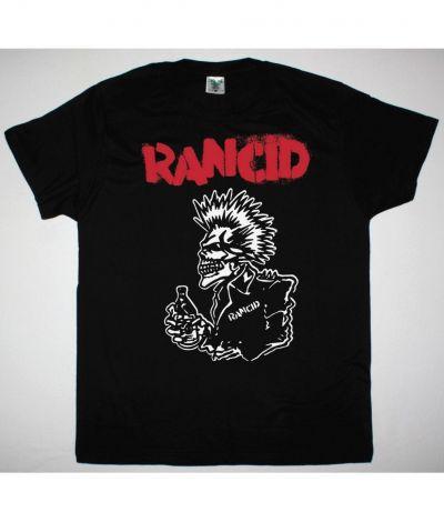 RANCID 40 OZ NEW BLACK T SHIRT