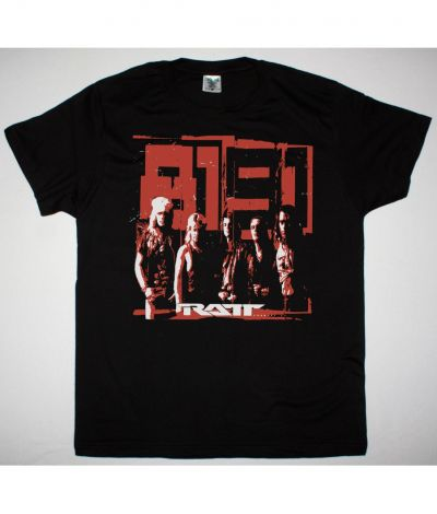 RATT ROCK AND ROLL 81-91 NEW BLACK T SHIRT